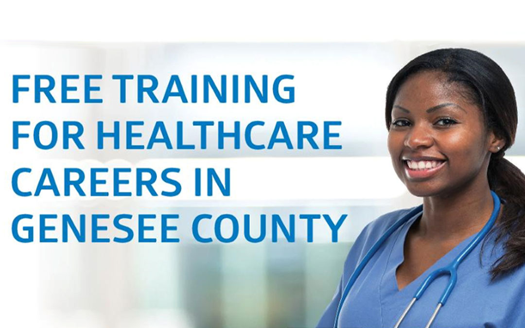 Free Training for Healthcare Careers in Genesee County